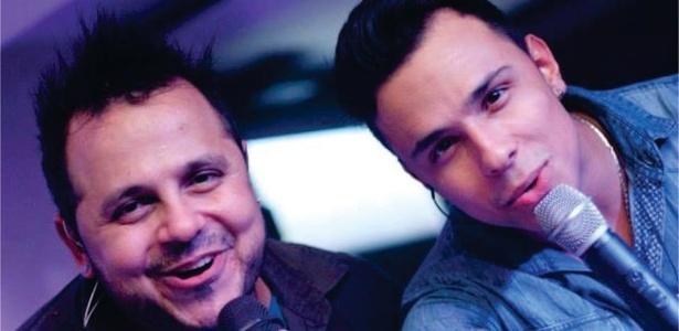 Fabiano Rocha (esq.) também é cantor sertanejo e já abriu show de Zezé & Luciano