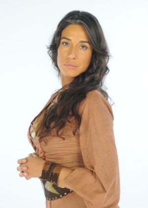"""Giselle Itiê como Zípora em """"Os Dez Mandamentos"""" - Munir Chatack/TV Record"""