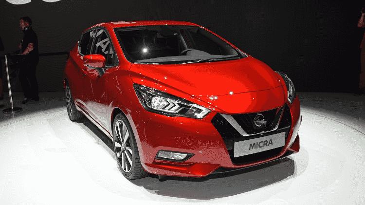 Nissan Micra, como é chamado o March na Europa, é bem mais moderno que o modelo vendido no Brasil - Murilo Góes/UOL