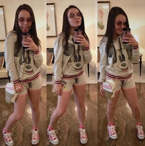 Preferência 10 looks de Larissa Manoela que vão de confortáveis a roupas para  OZ43