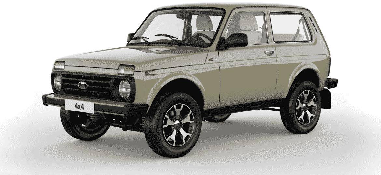 Niva é um dos poucos carros da Lada com boa aceitação no mercado de usados - Divulgação