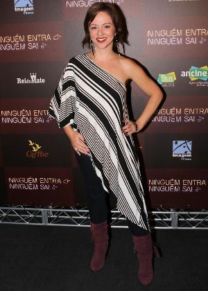 A atriz Guta Stresser emagreceu 15 quilos em dois anos