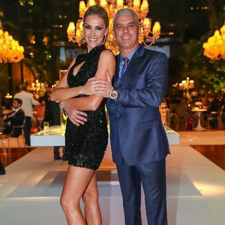 Ana Hickmann com o marido, Alexandre Correa - Raphael Castello/AgNews