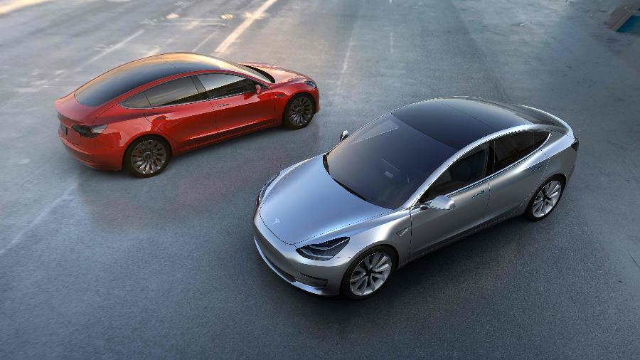 Tesla Model 3 é o carro escolhido para fazer vendas da Tesla se multiplicarem até 2020 - Divulgação