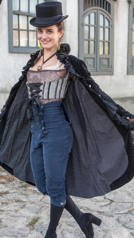 """Priscila Steinman como Isaura, amante de Dom Pedro em """"Novo Mundo"""" - Artur Meninea/Gshow"""