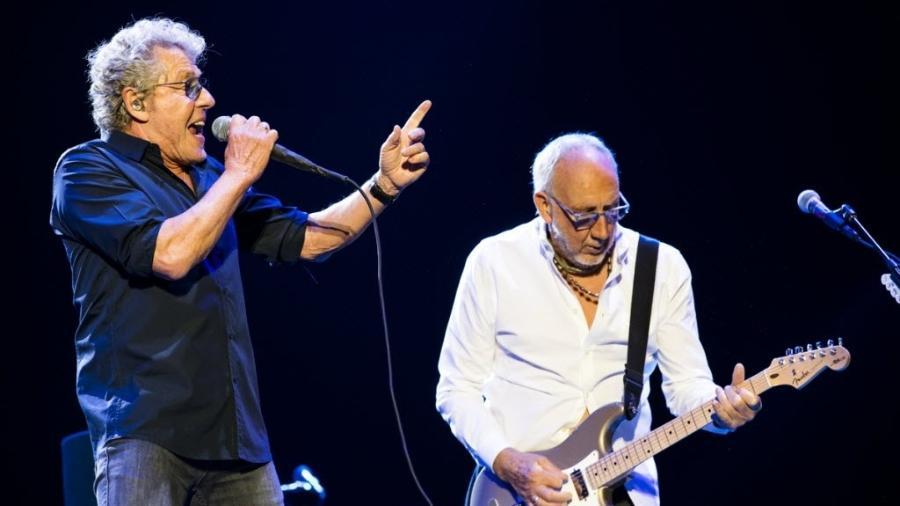 Roger Daltrey e Pete Townshend, do The Who, em São Paulo, em 2017 - Mariana Pekin/UOL