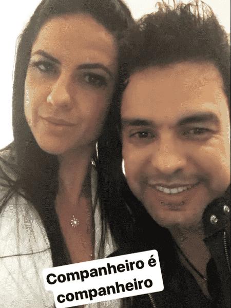 Graciele Lacerda e Zezé Di Camargo  - Reprodução/Instagram/gracielelacerdaoficial