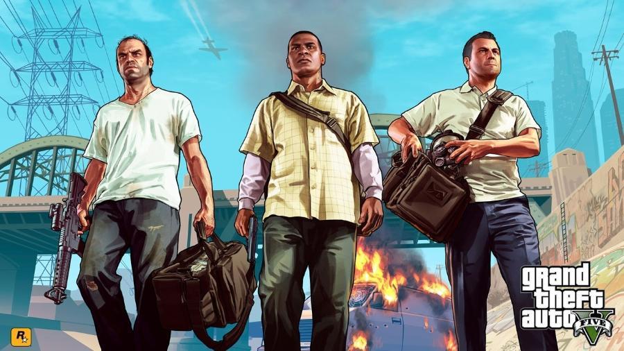 Grand Theft Auto V de graça para PC - Reprodução