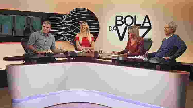 Bola da Vez na ESPN com Renata Fan - Divulgação - Divulgação