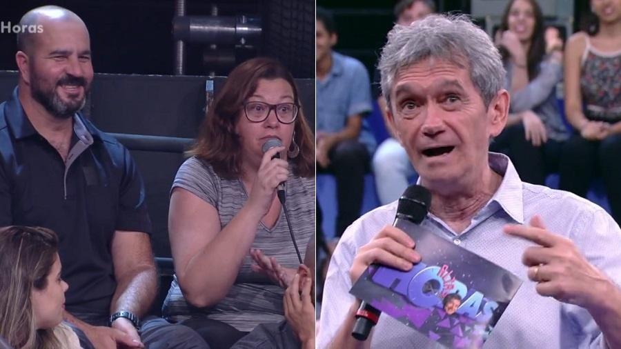 """Mulher reclama que Serginho Groisman prejudica sexo com marido durante o """"Altas Horas"""" - Reprodução/TV Globo"""