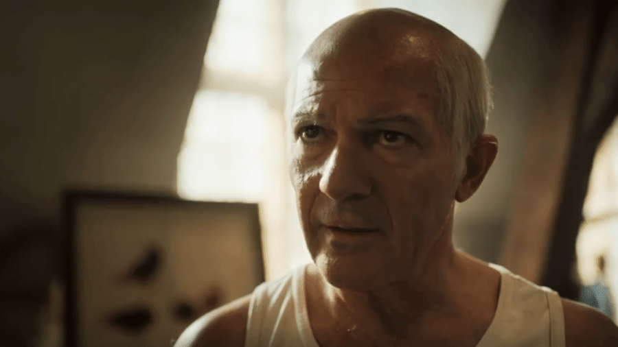 """Antonio Banderas como Picasso em cena de """"Genius"""" - Reprodução de vídeo"""