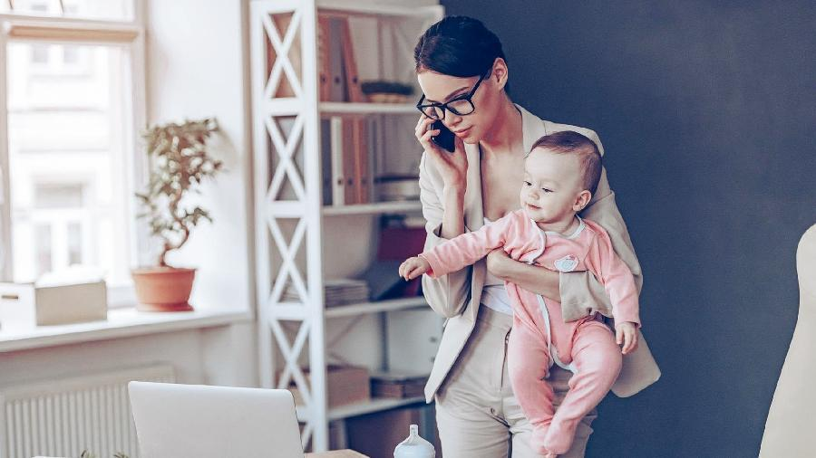 O Senado aprovou a ampliação da licença-maternidade para 180 dias — agora a decisão está nas mãos da Câmara dos Deputados - Getty Images