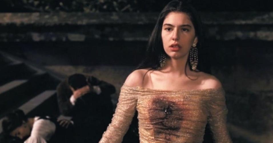 """Sofia Coppola em cena de """"O Poderoso Chefão Parte III"""" (1990)"""