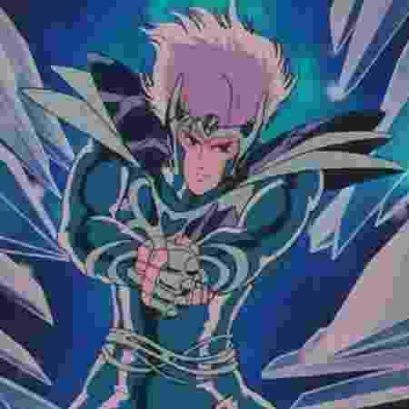 """Mestre Cristal, personagem de """"Os Cavaleiros do Zodíaco"""" - Reprodução - Reprodução"""