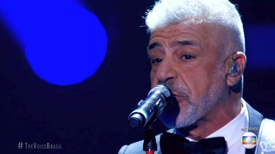 """Lulu Santos canta """"Hoje em Dia"""" no """"The Voice Brasil"""" - Reprodução/TV Globo"""