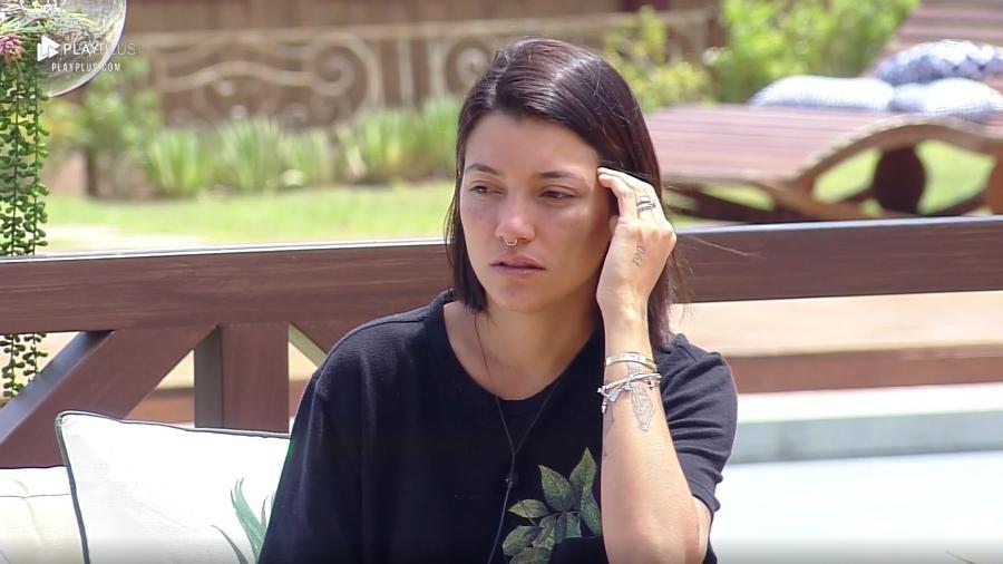 Gabi Prado fala sobre relacionamento com Nadja Pessoa fora do programa  - Reprodução/PlayPlus