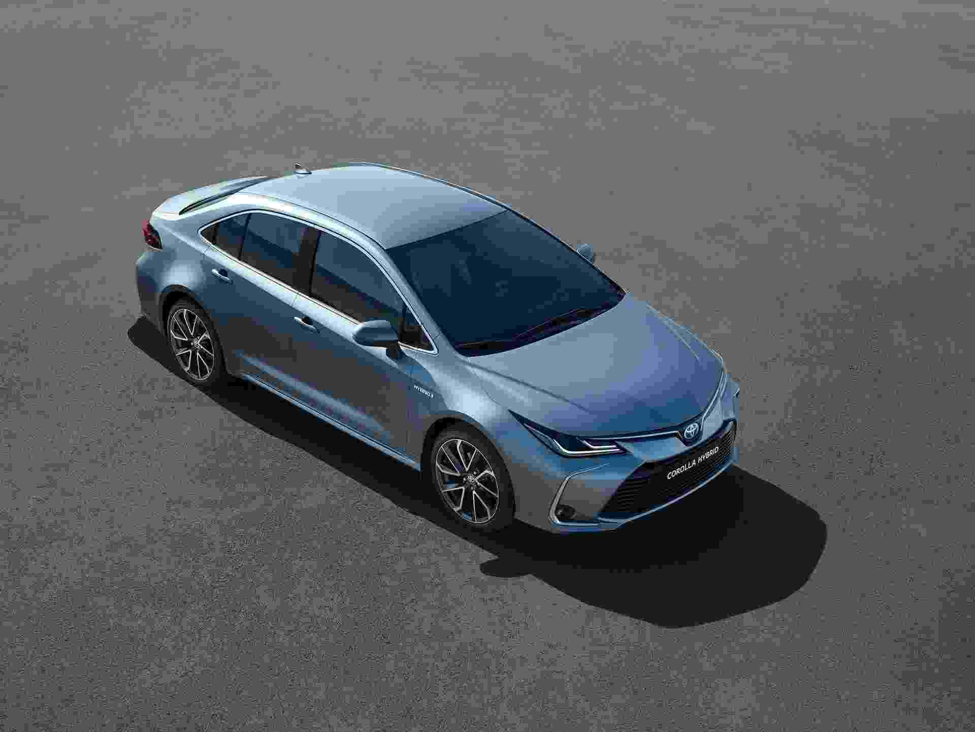 Toyota Corolla Sedan 2020 - Divulgação
