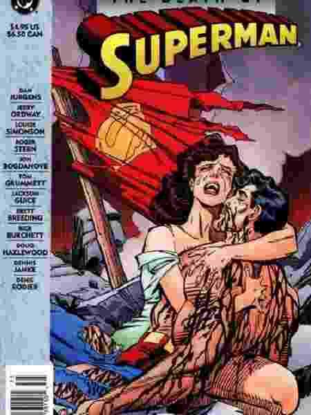 Capa de Superman - Reprodução/DC Comics - Reprodução/DC Comics