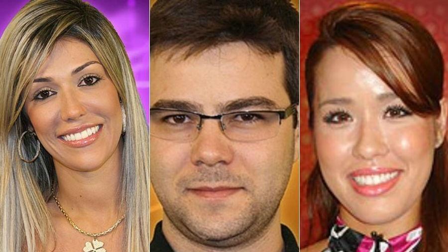 """Fernanda, Netinho e Yumi foram selecionados para o """"BBB"""", mas não entraram na casa - Reprodução/Globo/Fotomontagem/UOL"""