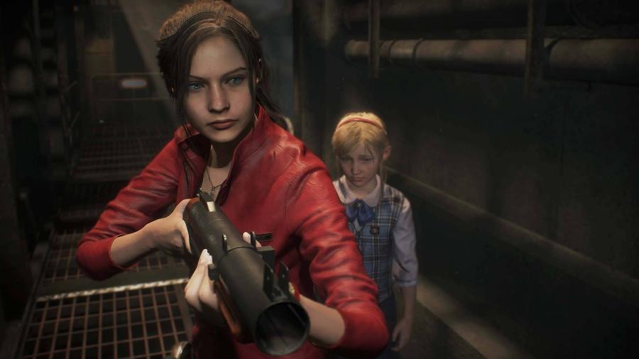 """Claire Redfield em """"Resident Evil 2"""", lançado nesta semana para PC, PS4 e Xbox One. - Reprodução"""