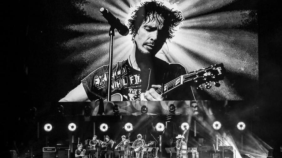 Chris Cornell é homenageado em tributo com famosos no The Forum, em Los Angeles - Rich Fury/The Forum/Divulgação
