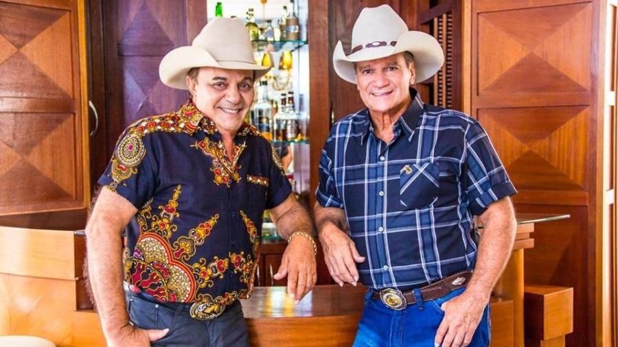 A nova dupla Gino & Geno formada por Sebastião Ribeiro de Almeida e Mauro Avante - Divulgação