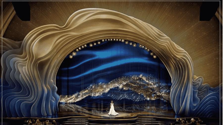 Design do palco do Oscar 2019 - Reprodução/Instagram