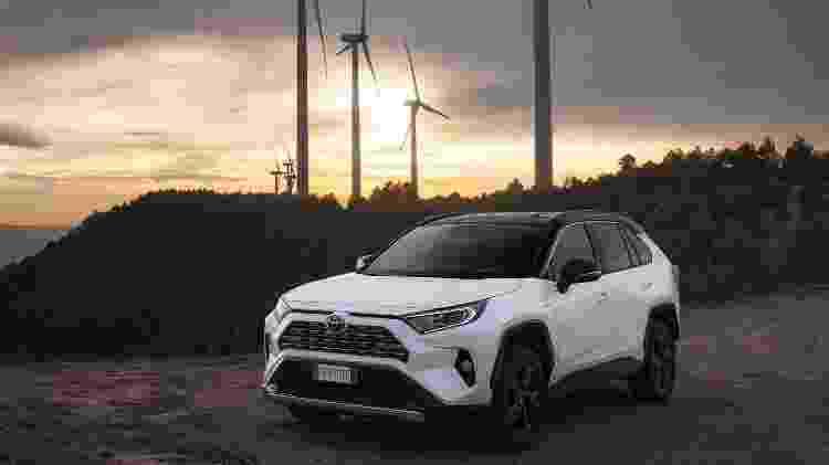 Toyota RAV4 Hybrid - Divulgação  - Divulgação