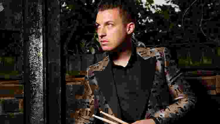 Matt Helders, baterista do Arctic Monkeys - Joseph Branston/Rhythm Magazine via Getty Images