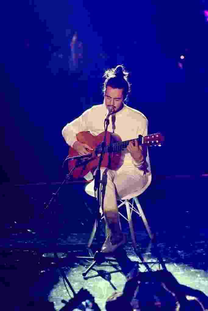 Tiago Iorc apareceu de surpresa e cantou no MTV Miaw - Manuela Scarpa e Iwi Onodera/Brazil News