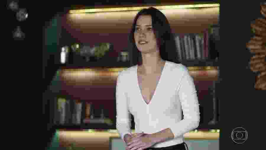 Fabiana (Nathalia Dill) em A Dona do Pedaço - Reprodução/TV Globo