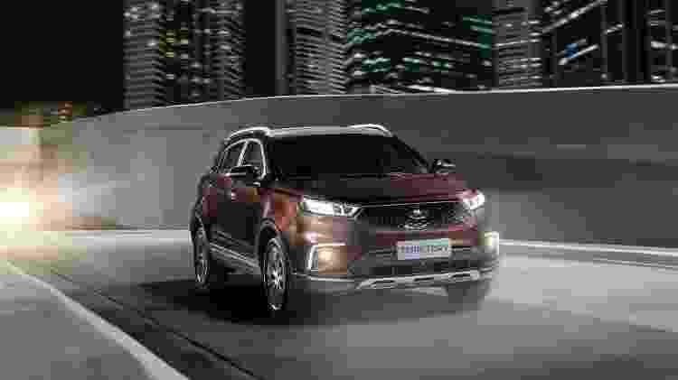 Projetado na China, Territory estreia no mercado brasileiro em 2020 - Divulgação/Ford