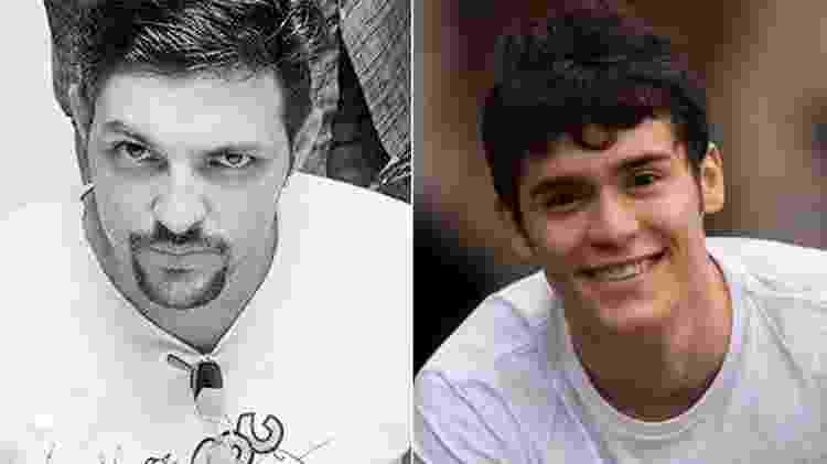 Sérgio Reoli será interpretado por Julio Oliveira  - Reprodução/Arte/UOL - Reprodução/Arte/UOL