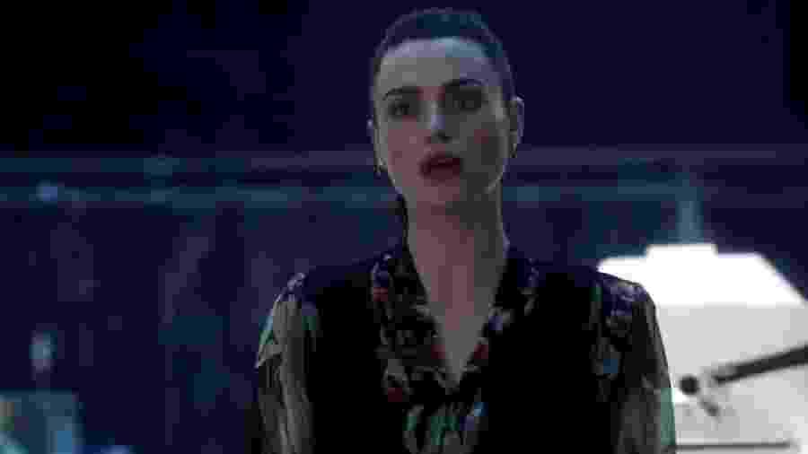 O clima vai esquentar! Durante o teaser, Lena Luthor (Katie McGrath) acusou a heroína de traição - Reprodução/YouTube