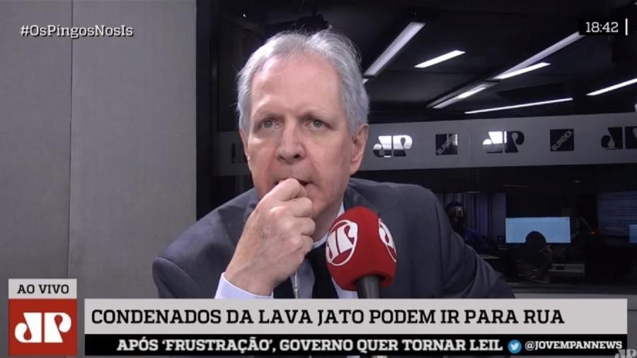 Augusto Nunes deixa Jornal da Record News e a direção de redação do R7 - Reprodução/Jovem Pan