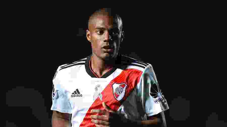 O uruguaio Nicolás de la Cruz é um dos destaques do River Plate, atual vice-campeão da Libertadores - Getty Images