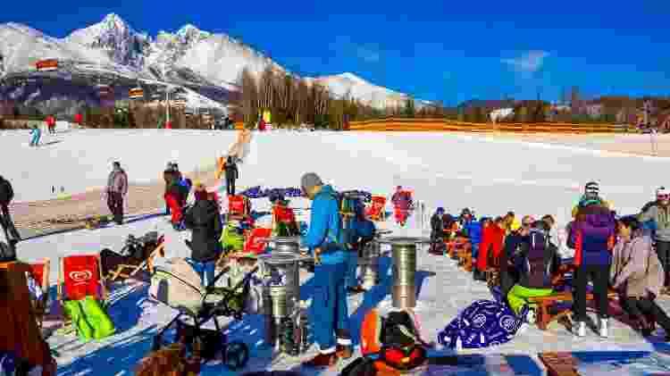 Estação de esqui em Tatranska Lomnica, na Eslováquia - iStock