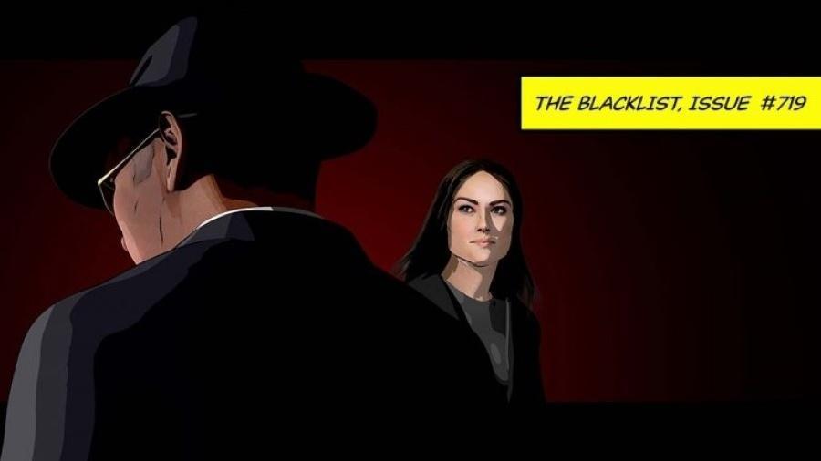 """Uma das cenas de animação do finale da 7ª temporada de """"The Blacklist"""" - Reprodução/THR"""