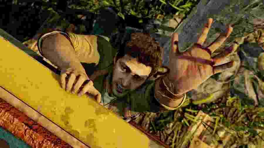Quantas vezes Nathan Drake quase morreu em Uncharted? - Reprodução