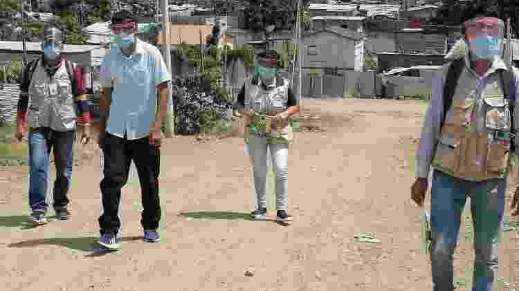 Monte Sinai, em Guayaquil, Equador, na pandemia - Dya Ecuador - Dya Ecuador