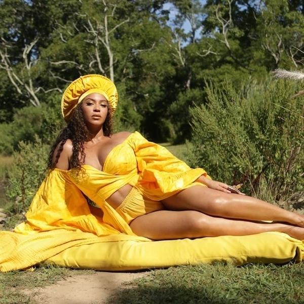 """Beyoncé em fotografia de """"Black is King"""""""