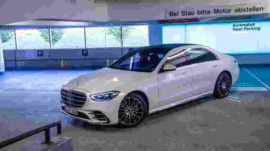 Mercedes-Benz Classe S com tecnologia autônoma - Divulgação