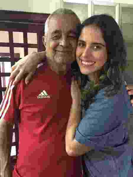 Camilla Camargo e avô Francisco - Reprodução/Instagram