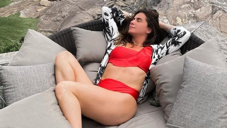 Giovanna Antonelli posa de biquíni e ganha elogios de seguidores - Reprodução/Instagram