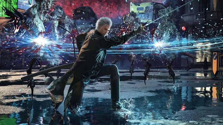 Vergil é a principal novidade da edição especial de DmC V - Divulgação/Capcom