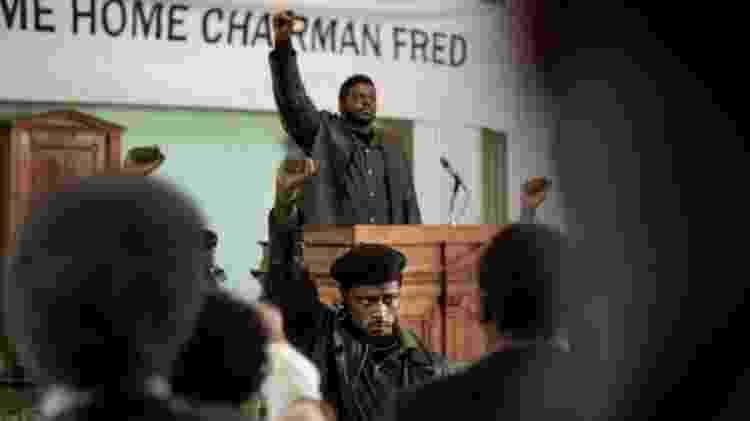 'Judas e o Messias Negro': ao fundo, Daniel Kaluuya, que venceu o BAFTA - WARNER BROS - WARNER BROS