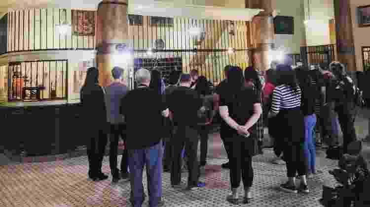 Antes da pandemia, tour pelo Barclay Hotel lotava - Richard Schave/Esoturic - Richard Schave/Esoturic