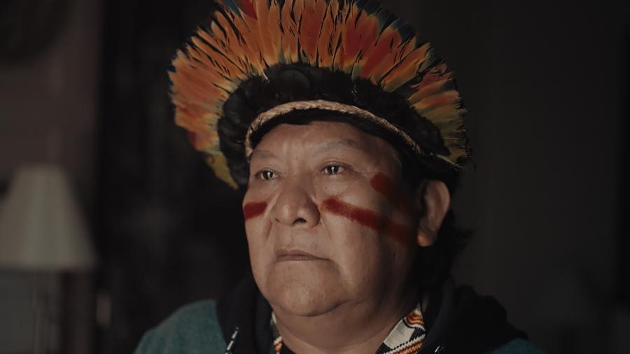 """Documentário """"A Última Floresta"""" tem roteiro de Davi Kopenawa e direção de Luiz Bolognesi - Divulgação"""