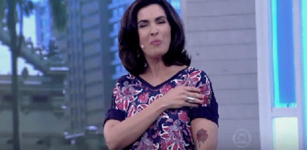 Fátima Bernardes Chama Atenção Do Público Com Tatuagem No