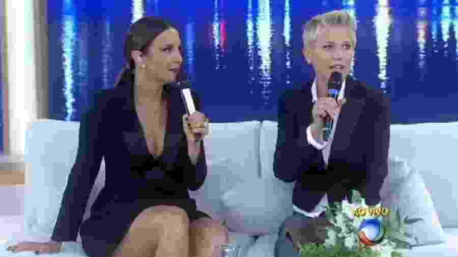 Xuxa e Ivete, os bons tempos ainda não voltaram - Reprodução /Record